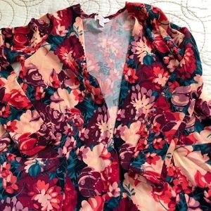 LuLaRoe Floral Caroline